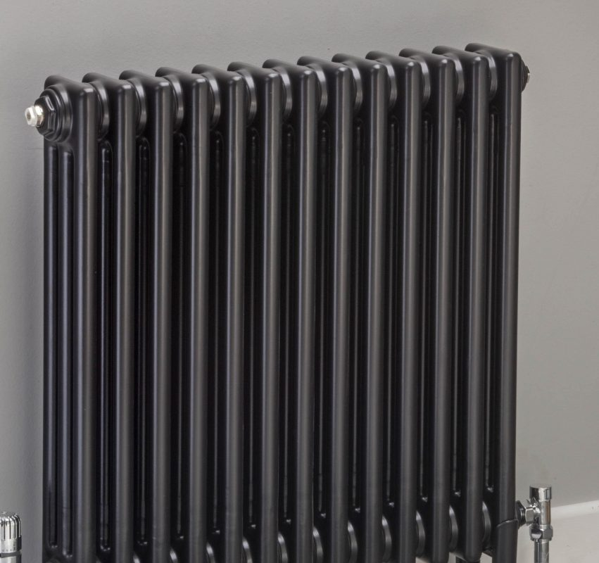 Zehnder Charleston 3 Column Anthracite Traditional